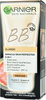 Garnier Skin Naturals BB Cream Classic - SPF 15 - гланц