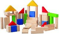 Дървени кубчета - Образователна играчка -