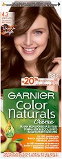 Garnier Color Naturals Creme - Интензивно подхранваща крем боя за коса - гъба за баня