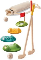 Комплект за мини голф за двама - Детска играчка - играчка