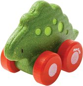 Динозавър - Стегозавър - Дървена количка -