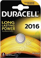 Бутонна батерия DL2016 - Литиева 3V - 1 ÷ 2 броя - батерия