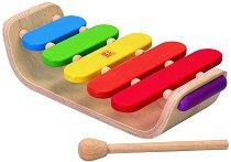 Ксилофон - Дървен музикален инструмент - играчка