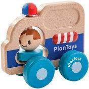 Линейка - Дървена играчка - играчка