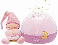 Детска нощна лампа за момиченца - Stars - С проектор и мелодии -