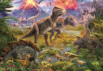 Свърталище на динозаври - пъзел