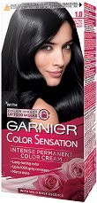 Garnier Color Sensation - Наситена трайна боя за коса - паста за зъби