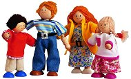 Модерно семейство - Дървени играчки -