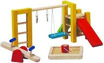 Детска площадка за кукли - Дървени детски играчки - играчка