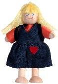 Дървена кукла - Момиче -