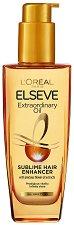 Elseve Extraordinary Oil Sublime Hair - Подхранващо олио за всеки тип коса - продукт