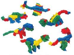 Динозаври - Детски конструктор - играчка