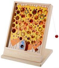 Сиренце и мишка - Детска забавна игра за сръчност - играчка