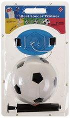 Футболна топка с въженце - Тренировъчен комплект -