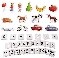 Фигури, цифри и знаци - портмоне