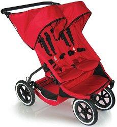 Лятна бебешка количка за близнаци - E3 -