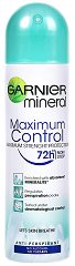 "Garnier Mineral Intensive 72h Maximum Control - Дезодорант от серията ""Garnier Deo Mineral"" - дезодорант"