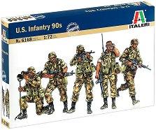 Пехотинци на САЩ от 90-те години - Комплект фигури - макет