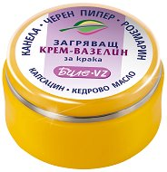 Загряващ крем-вазелин за крака - продукт