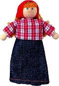 Фермерка - Дървена кукла - играчка