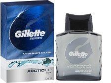 "Gillette Series After Shave Splash Arctic Ice - Афтършейв с охлаждащ ефект от серията ""Series"" - шампоан"