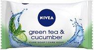 Nivea Green Tea & Cucumber - Тоалетен сапун с екстракт от краставица и аромат на зелен чай - дезодорант