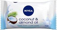 Nivea Coconut & Almond Oil - Тоалетен сапун с бадемово масло и аромат на кокос - крем