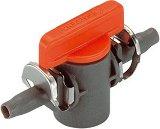 """Спирателен кран - ∅  4.6 mm (3/16 """") - За система за капково напояване """"Micro-Drip-System"""""""