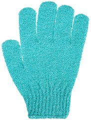 Текстилна гъба за баня - ръкавица - шампоан