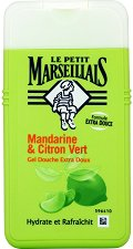 Le Petit Marseillais – Mandarine & Citron Vert - Овлажняващ душ гел с масло от мандарина и лайм - продукт