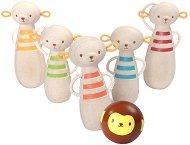 Боулинг с маймунки - Дървени играчки - играчка
