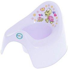 Детско гърне - Костенурка - Цвят лилав - гърне