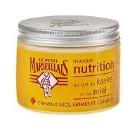 Подхранваща маска с мляко от карите и мед - За суха и изтощена коса - шампоан