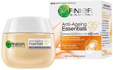 "Garnier Anti-Ageing Essentials Daily Care - 35+ - Дневен крем против бръчки от серията ""Garnier Essentials"" - крем"