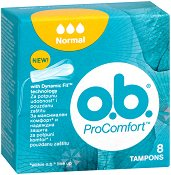 o.b. ProComfort Normal Tampons - Дамски тампони в опаковки от 8 ÷ 32 броя - балсам