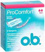 o.b. ProComfort Mini Tampons - Дамски тампони в опаковки от 8 ÷ 16 броя - продукт