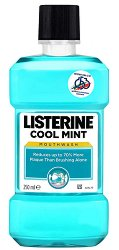 Listerine Cool Mint - Вода за уста за ежедневна употреба - масло