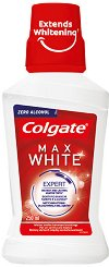Colgate Max White Expert Mouthwash - Вода за уста за бели зъби - паста за зъби