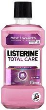 Listerine Total Care - Антибактериална вода за уста с 6 действия - шампоан