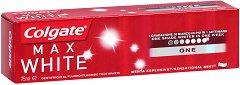 Colgate Max White One - Избелваща паста за зъби - пинцета
