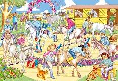 Парад на понитата - Блестящ пъзел -