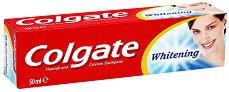 Colgate Whitening - Избелваща паста за зъби - продукт