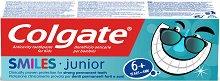 Colgate Smiles Junior Toothpaste - Паста за зъби за деца над 6 години -