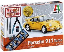 Автомобил - Porsche 911 Turbo - Сглобяем модел - комплект за начинаещи -