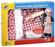 Детска готварска униформа - Малкият готвач - играчка