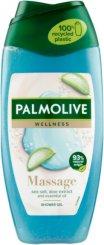 Palmolive Feel The Massage Shower Gel - Душ гел със соли от Мъртво море, алое вера и мента - маска