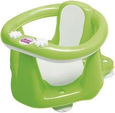 Анатомична седалка за къпане - Flipper Evolution - Цвят зелен -