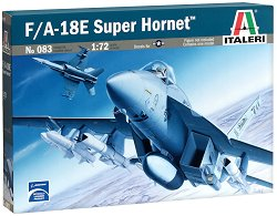Военен самолет - F/A-18E Super Hornet - Сглобяем авиомодел - макет