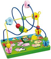 Лабиринт - Фермер - Дървена играчка - играчка