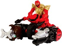 "Ultra Red Ranger Zord Vehicle - Играчка от серията ""Power Rangers Zord-builder"" -"